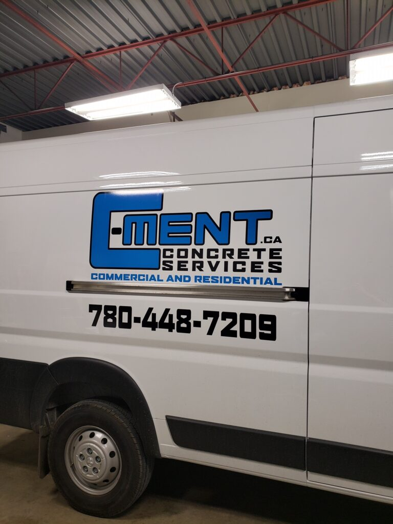 custom van vehicle decal